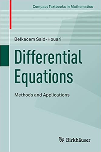 Differential Equations: Methods and Applications