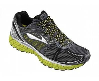 Brooks Mens Trance 12 Running Shoes Color: Wht/Slvr/Shadow/Blck/SlphSprng Size: 7.0