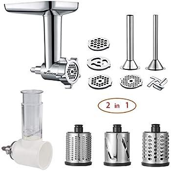 Amazon.com: KitchenAid FGA Food Grinder Attachment: Electric ...