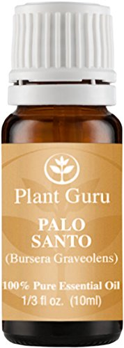 Palo Santo (Holy Wood) Essential Oil 10 ml. 100% Pure, Undiluted, Therapeutic Grade.