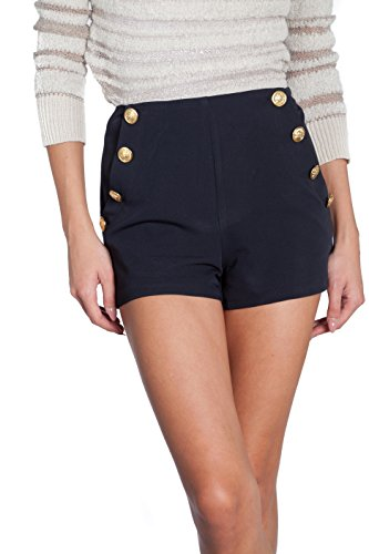 SHOP AT NICHE's necessary objects Sailor Shorts (Large, Navy) (Navy Sailor Short)