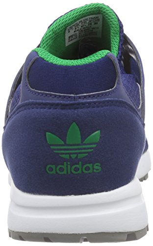 adidas Originals Unisex-Erwachsene Racer Lite Low-Top Blau (Oxford Blue F15-St/Oxford Blue F15-St/Green)