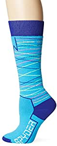 Spyder Women's Orycle Socks, Riviera/Evening, Small