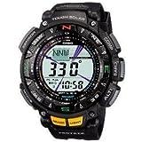 腕時計 CASIO watch PROTREK Triple Sensor tough solar 2-tier LCD model PRG-240-1JF men's watch【並行輸入品】