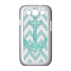 HB-P-CASE DIY Design Anchor Chevron Pattern Phone Case For Samsung Galaxy S3 I9300
