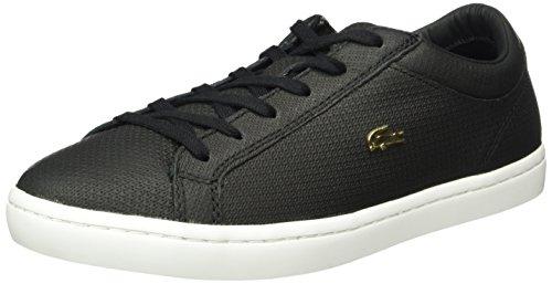 Lacoste Straightset 316 3 - Zapatillas Mujer Negro (Blk 024)