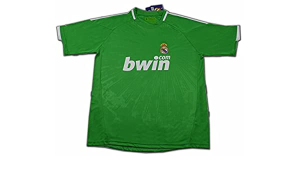 Camiseta del Real Madrid VERDE temporada 2011 TALLA XXL  Amazon.es  Deportes  y aire libre 9d7243c7069cd