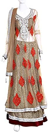 Lehenga Cholis For Women - Xl, Gold