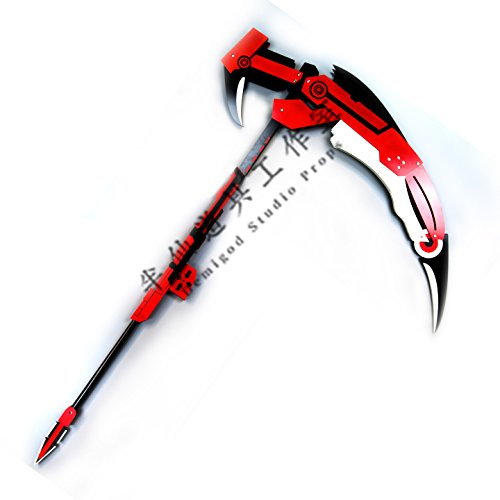 RWBY Ruby scythe weapon Sword Cosplay Prop (Buy Cosplay Weapons)