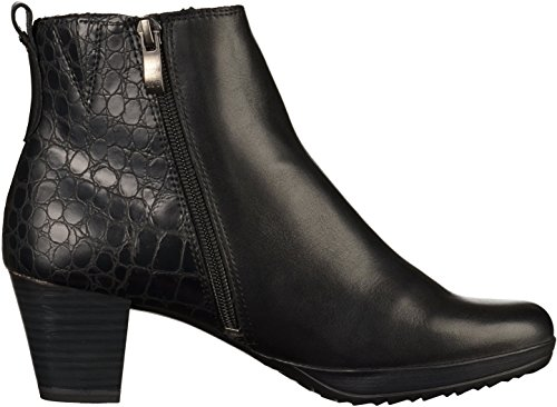 Boot Leather Tozzi Marco Black Size 308 Ankle 397 41 8 dqtd5