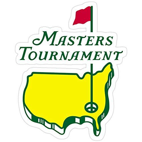 B. Strange Mall Masters Golf Stickers (3 Pcs/Pack)