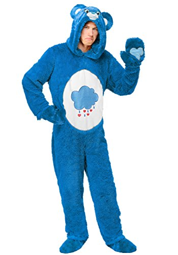 Care Bears Costumes For Adults (Care Bears Classic Grumpy Bear Adult Costume X-Large)