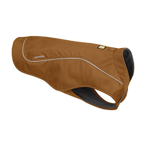 Ruffwear - K-9 Overcoat, Abrasion-Resistant Insulated Jacket for Dogs, Trailhead Brown, Small by Ruffwear