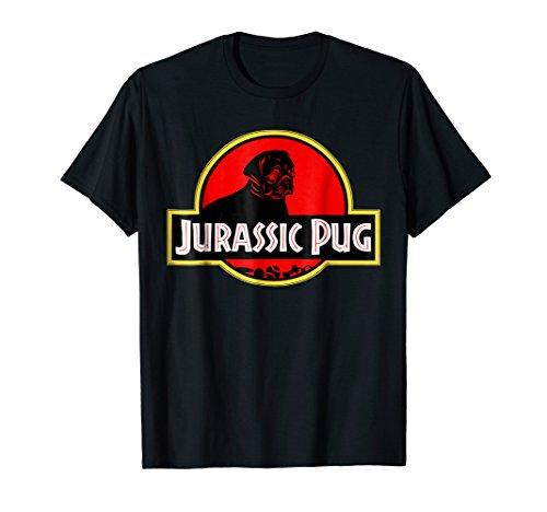 Funny Pug tshirt - Jurassic Pug for Dog lovers to Halloween -