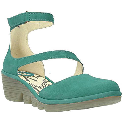 Nubuck Plan Verdigris Fly 717 Shoes Womens London 34jq5RLA