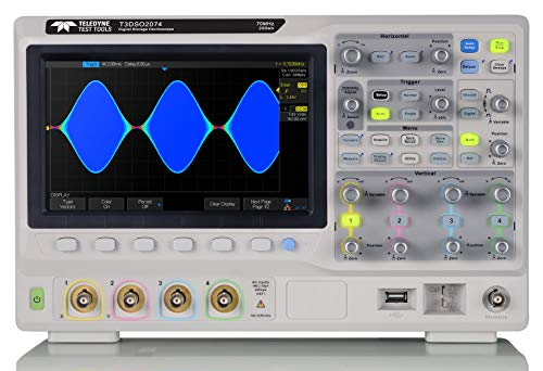 Teledyne Test Tools T3DSO2104 - Four Channel Digital Oscilloscope, 100 MHz