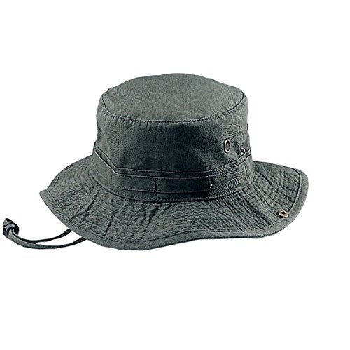 [Hats & Caps Shop Cotton Twill Washed Hunting Hat - By TheTargetBuys | (OLIVE-M)] (Cheap Police Hats)
