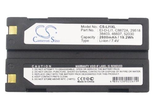 APS 29518 BCI MCR-1821J/1-H HP 29518 Kyocera 29518 Battery - Replacement BCI Capnocheck II Capnograph Pulse Oximeter (Li-ion,7.40V,2600mAh / 19.24Wh ) ()