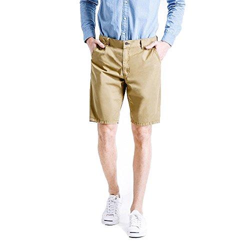 Pure Uomo Colore moda Spiaggia Outdoor Estate Elegante Paolian Pantaloncini Pantaloncini Casual Sport Del Cachi 580xwE5Tq