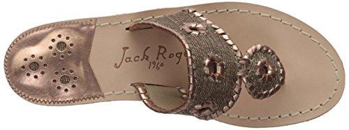 Sandal Rogers Isla rosegold Women's Flat biscuit Jack dIqUSU