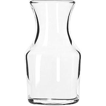 Libbey 718 Glass 4.13 Ounce Cocktail Decanter / Bud Vase - 72 / CS