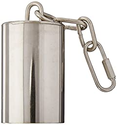 Caitec Paradise 2-Inch by 3-Inch Stainless Steel Bell for Pets, Large