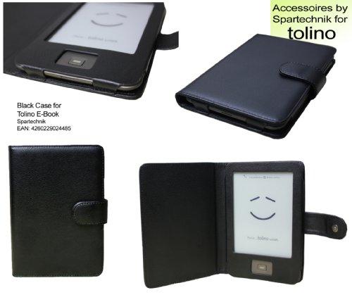 Tasche für Tolino von Bertelsmann Weltbild Thalia Telekom Hugendubel - bestes Case für Tolino Shine E-Book Reader - schwarz