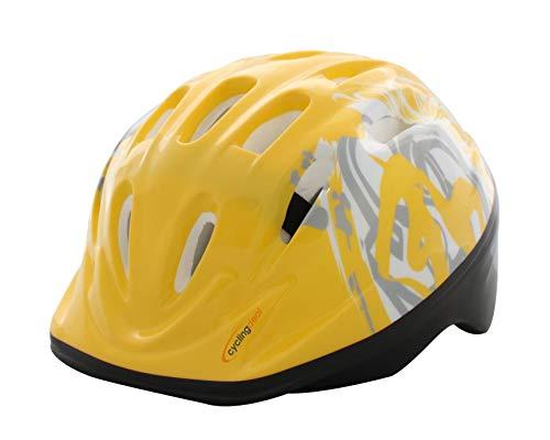 Bike Bicycle Cycling Kids Child Toddler Helmet Yellow