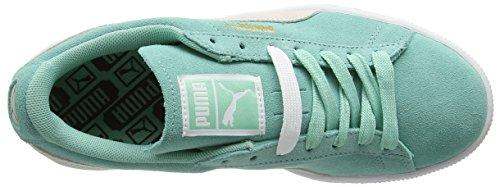 Verde Classic Suede da Scarpe Verde Green Ginnastica Donna White Wn's Puma Basse w8gTxRR