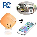 Key Finder,Bluetooth Key Finder Cell Phone Finder Wallet Tracker Device Luggage Locator Anything Finder Replaceable Battery Smart Anti Lost Alarm Compatible iOS Android APP BCKAKQA