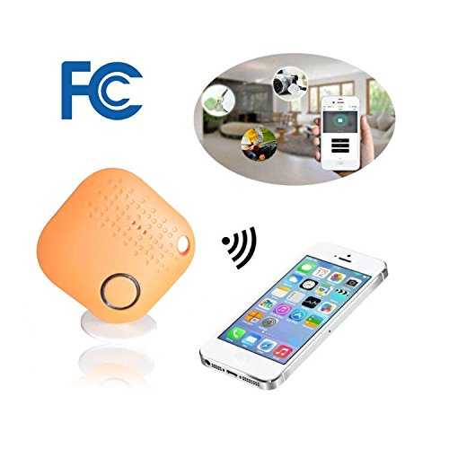 Key Finder,Bluetooth Key Finder Cell Phone Finder Wallet Tracker Device Luggage Locator Anything Finder Replaceable Battery Smart Anti Lost Alarm Compatible IOS Android APP by (Any Bluetooth Phone)