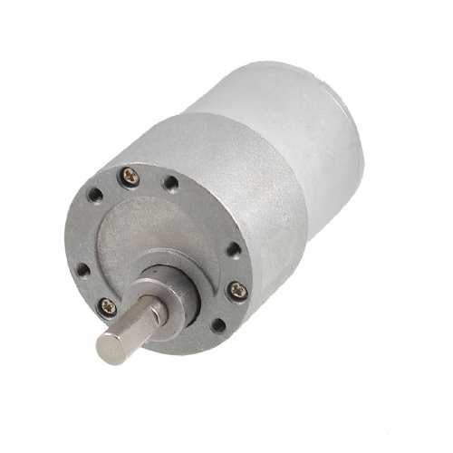 uxcell Repairing Part 37GB DC 12V 200RPM 100mA Electric Geared Motor