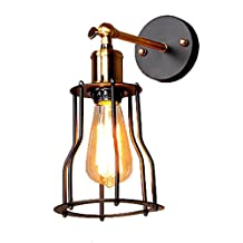 Loft Vintage Wall Lights Industrial Edison Fashion Simplicity Wall Metal Base Cap Wall Lights