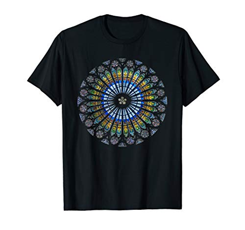 - Strasbourg Cathedral France Mandala Stained Glass Window Art