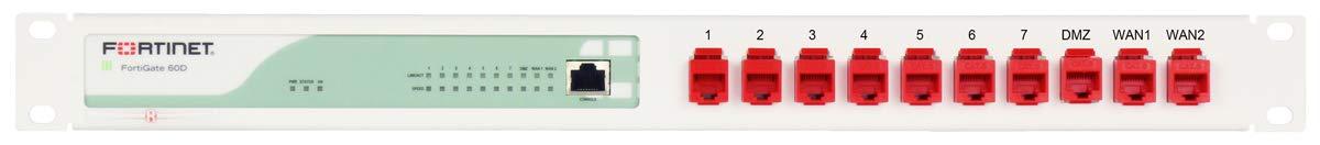 Rackmount Kit for FortiRack RM-FR-T3 - FortiGate 60C & 60D