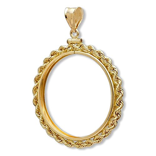 14k Solid Gold Coin - 1
