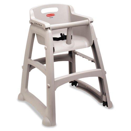 (RCP781408PLA - Rubbermaid Sturdy Chair Youth Seat, Plastic, 23 3/8w X 23 1/2d X 29 3/4h, Platinum )