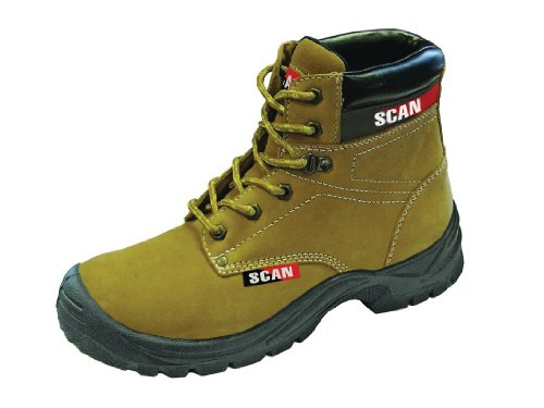 Scan Cougar Nubuck Safety Boot S1P Size 9 - 43
