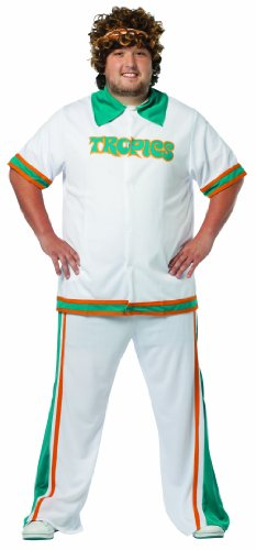 Rasta Imposta Plus-Size Jackie Moon Official Flint Tropics Warmup Suit, Multi, Plus 14-20 (Jackie Moon Halloween Costume)