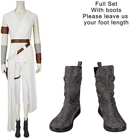 MSSJ Rey Cosplay Star Wars 9 The Rise of Skywalker Disfraz Star ...