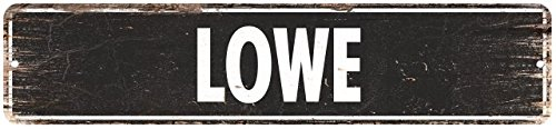 Lowe Man CAVE Street Rustic Chic Metal Sign Home Man cave Decor Gift 4180562