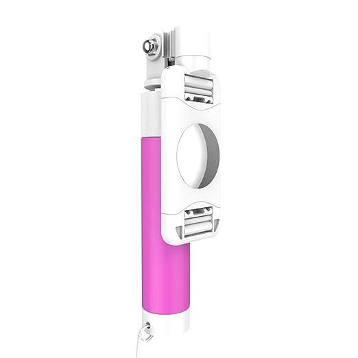 YOUEC Selfie Stick con Cable, Mini monopie Extensible para Android ...