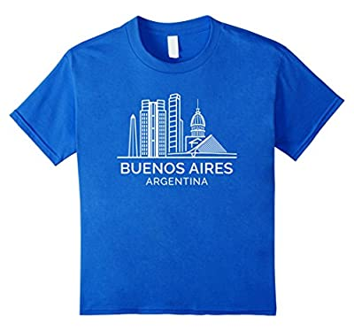 Buenos Aires Argentina City Skyline Stylish T-Shirt