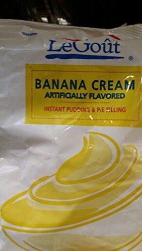 LeGout Banana Cream Filling 24 Oz (12 Pack)