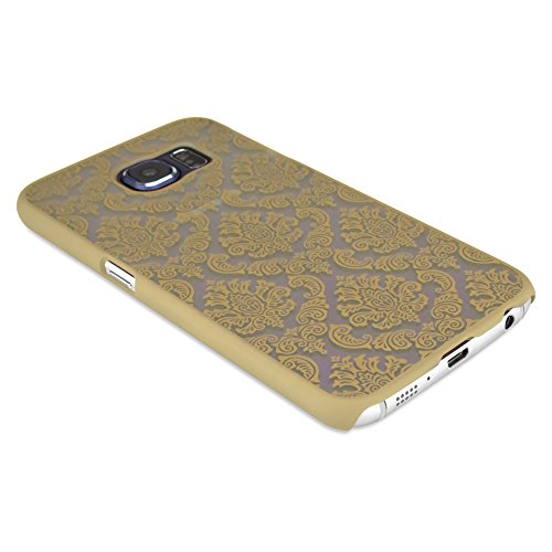 BoxWave Nuvo Royalty Case for Samsung Galaxy S6 - Slim Fit Samsung Galaxy S6 Protective Case With Stylish Designed Back for Durable Anti-Slip Protection - Samsung Galaxy S6 Cases and Covers (Champagne Gold)