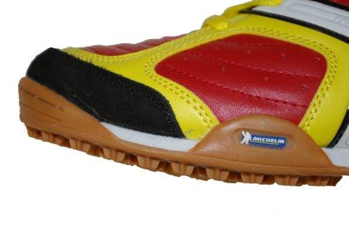 homme red Rouge spécial yellow foot salle en Kelme Chaussures pour ESqw876