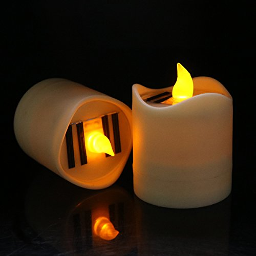 6PCS Birthday Candles Safe Flames With Holders - 2