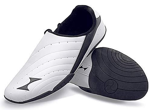 HEALTH Men's Taekwondo Shoes Martial Arts Sneakers Boxing Karate Kung Fu Tai Chi Shoes Lightweight Shoes 5858