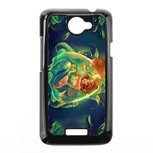 HTC One X Cell Phone Case Black Anime Mermaid I8253778