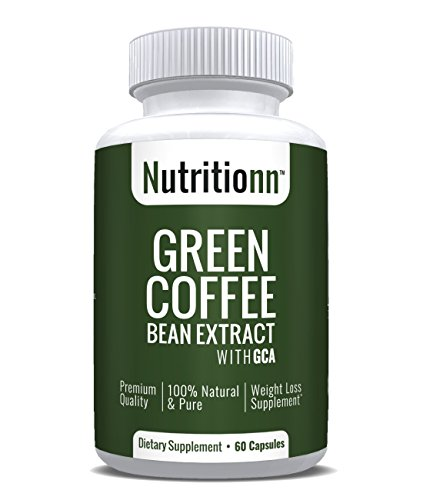 Green Coffee Bean Extract by Nutritionn - Premium Weight Loss Supplement - 60 Capsules by Nutritionn